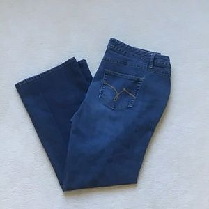 Just My Size modern boot cut jeans 20w